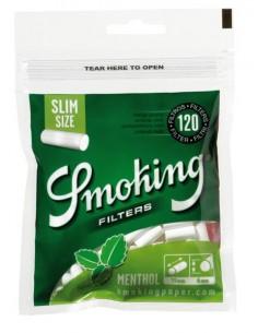 Filtry Smoking Slim Menthol 120's /10