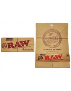 Bibułka RAW Artesano KS Slim+Filter Tips 32/15