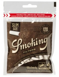 Filtry Smoking Slim Brown 120's /10