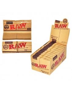 Bibułka RAW Regular + Filter Tips 50/24